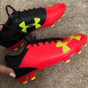 Under Armour soccer cleats- UA B spotlight